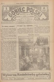 Goniec Polski.R.1, nr 245 (8 listopada 1907)