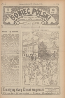 Goniec Polski.R.1, nr 247 (10 listopada 1907)