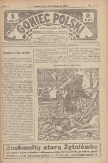 Goniec Polski.R.1, nr 249 (13 listopada 1907)