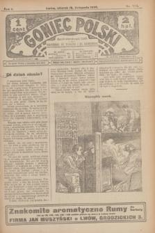 Goniec Polski.R.1, nr 254 (19 listopada 1907)