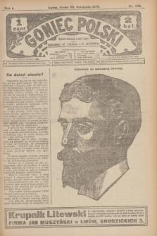 Goniec Polski.R.1, nr 255 (20 listopada 1907)