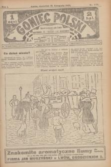 Goniec Polski.R.1, nr 256 (21 listopada 1907)
