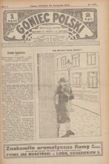Goniec Polski.R.1, nr 259 (24 listopada 1907)