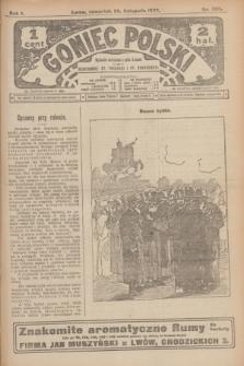 Goniec Polski.R.1, nr 262 (28 listopada 1907)