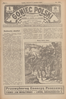 Goniec Polski.R.1, nr 266 (3 grudnia 1907)