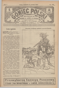 Goniec Polski.R.1, nr 271 (8 grudnia 1907)