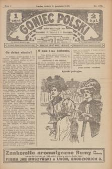 Goniec Polski.R.1, nr 273 (11 grudnia 1907)