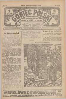 Goniec Polski.R.1, nr 279 (18 grudnia 1907)