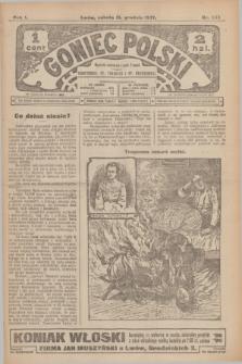 Goniec Polski.R.1, nr 282 (21 grudnia 1907)