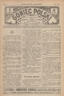 Goniec Polski.R.1, nr 285 (25 grudnia 1907)