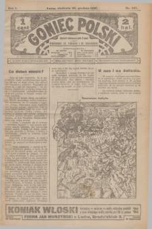 Goniec Polski.R.1, nr 287 (29 grudnia 1907)