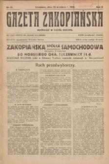 Gazeta Zakopiańska.R.2, Nr 35 (23 września 1922)