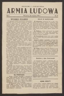 Armia Ludowa.R.1, nr 37 (22 września 1944)