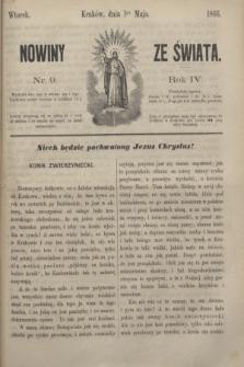 Nowiny ze Świata.R.4, nr 9 (1 maja 1866)