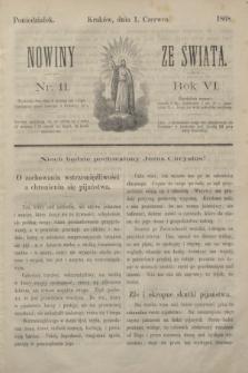 Nowiny ze Świata.R.6, nr 11 (1 czerwca 1868)