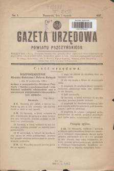 Gazeta Urzędowa Powiatu Pszczyńskiego.1937, nr 1 (2 stycznia)