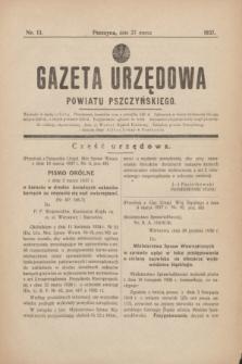 Gazeta Urzędowa Powiatu Pszczyńskiego.1937, nr 13 (27 marca)