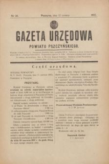 Gazeta Urzędowa Powiatu Pszczyńskiego.1937, nr 24 (12 czerwca)