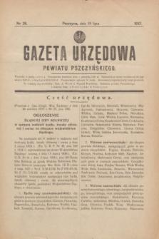 Gazeta Urzędowa Powiatu Pszczyńskiego.1937, nr 28 (10 lipca)