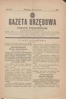 Gazeta Urzędowa Powiatu Pszczyńskiego.1937, nr 51/52 (24 grudnia)