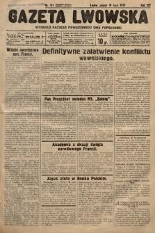 Gazeta Lwowska. 1937, nr157