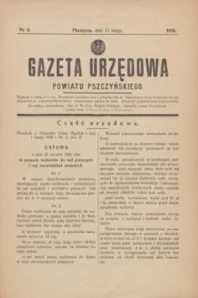 Gazeta Urzędowa Powiatu Pszczyńskiego.1938, nr 6 (12 lutego)