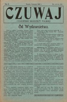 Czuwaj : czasopismo młodzieży polskiej. 1920, nr4  PDF 