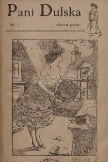 Pani Dulska. 1909, nr 1 |PDF|