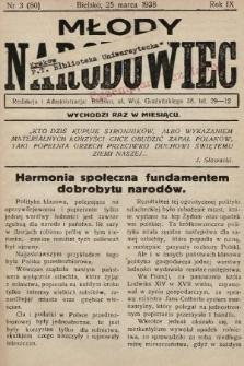 Młody Narodowiec. 1938, nr3 |PDF|