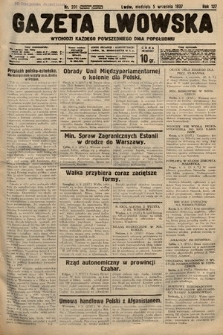 Gazeta Lwowska. 1937, nr201