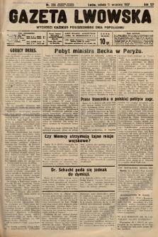 Gazeta Lwowska. 1937, nr206