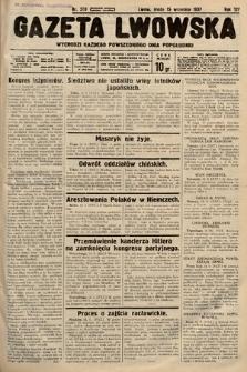 Gazeta Lwowska. 1937, nr209