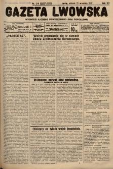 Gazeta Lwowska. 1937, nr214