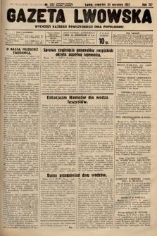Gazeta Lwowska. 1937, nr222