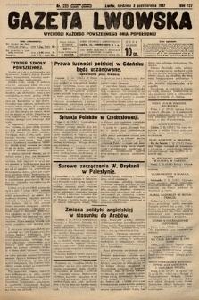 Gazeta Lwowska. 1937, nr225