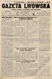 Gazeta Lwowska. 1937, nr234