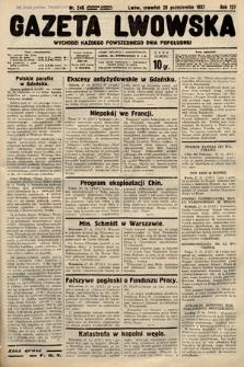 Gazeta Lwowska. 1937, nr246