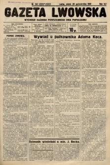 Gazeta Lwowska. 1937, nr247