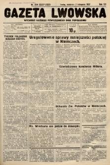 Gazeta Lwowska. 1937, nr254