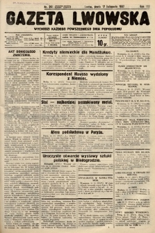 Gazeta Lwowska. 1937, nr261