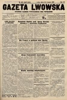 Gazeta Lwowska. 1937, nr267