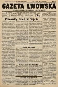Gazeta Lwowska. 1937, nr281