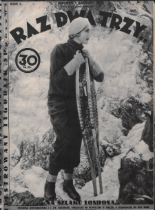 Raz, Dwa, Trzy : ilustrowany tygodnik sportowy. 1931, nr33