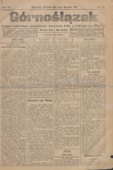 Górnoślązak : pismo codzienne, poświęcone sprawom ludu polskiego na Sląsku.R.3, nr 174 (2 sierpnia 1904)