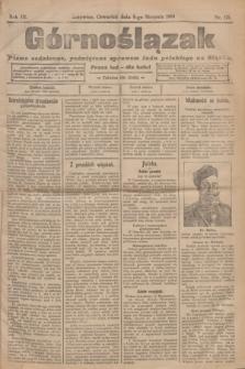 Górnoślązak : pismo codzienne, poświęcone sprawom ludu polskiego na Sląsku.R.3, nr 176 (4 sierpnia 1904)
