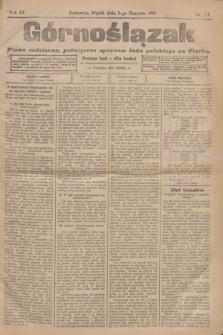 Górnoślązak : pismo codzienne, poświęcone sprawom ludu polskiego na Sląsku.R.3, nr 177 (5 sierpnia 1904)