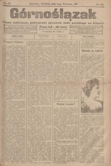 Górnoślązak : pismo codzienne, poświęcone sprawom ludu polskiego na Sląsku.R.3, nr 203 (4 września 1904) + dod.