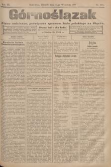 Górnoślązak : pismo codzienne, poświęcone sprawom ludu polskiego na Śląsku.R.3, nr 204 (6 września 1904)
