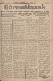 Górnoślązak : pismo codzienne, poświęcone sprawom ludu polskiego na Śląsku.R.3, nr 205 (7 września 1904)