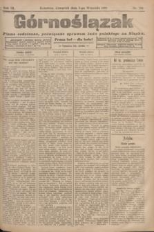Górnoślązak : pismo codzienne, poświęcone sprawom ludu polskiego na Śląsku.R.3, nr 206 (8 września 1904)